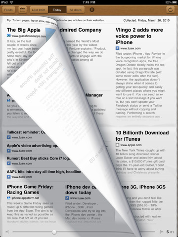 5 Best Newspaper Apps for iPad