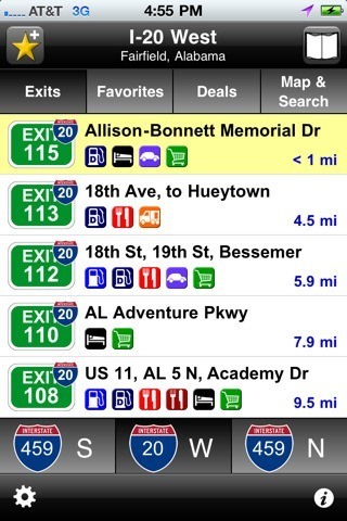 3 Cool Exit Finder Apps for iPhone