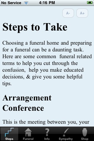3 Decent iPhone Apps for Funerals