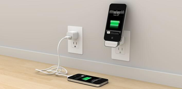 Add usb to wall outlets to charge iphone 7 ways iphoneness for Chargeur mural iphone