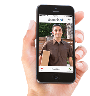 DoorBot : this iPhone doorbell is WiFi enabled and lets you see and