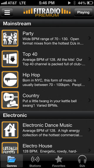 8 workout music apps for iphone iphoneness. Black Bedroom Furniture Sets. Home Design Ideas