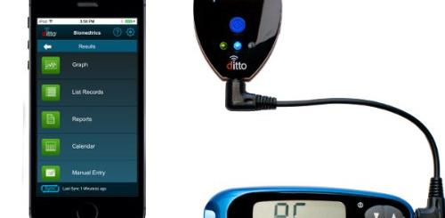Metersync Blue Add Bluetooth To Blood Glucose Meters