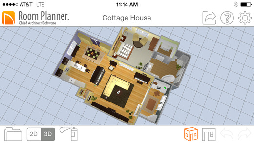 Create and view floor plans with these 7 ios apps iphoneness for Design my own room app