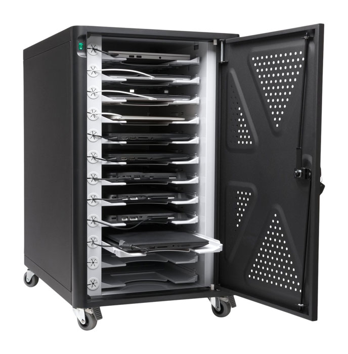 Kensington-AC12-Security-Charging-Cabinet-for-Tablets-&-Laptops