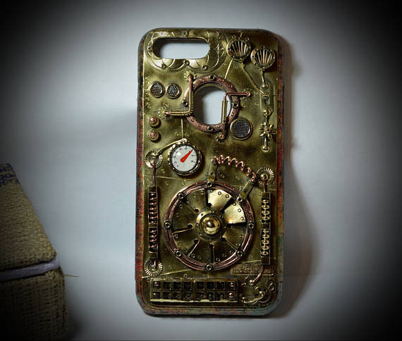 iphone steampunk case