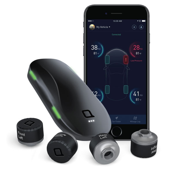 Zus app smart tire pressure monitor iphoneness for Perfect blend pro smart scale